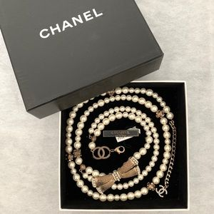 Chanel Pearl Belt / Necklace